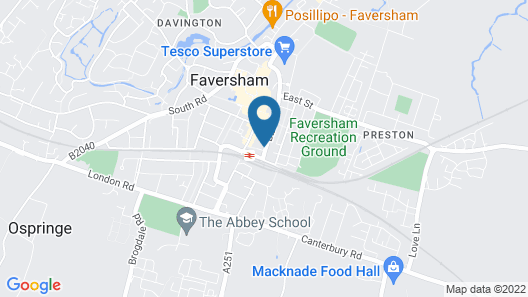 Gladstone Guesthouse Map