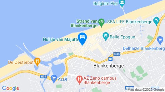 Hotel Franky Map