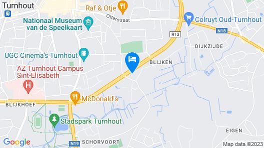 Biohotelturnhout Map