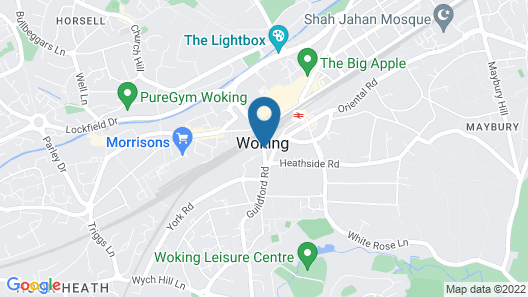 SFA New Central Woking Map