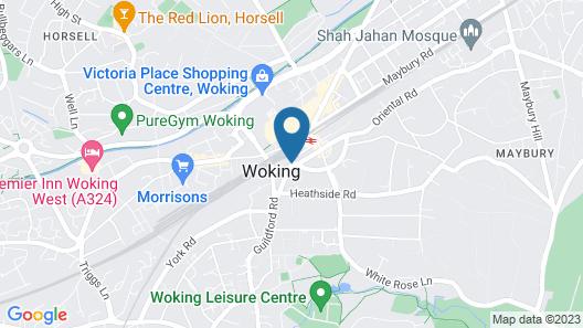 Oakdale Apartments Map