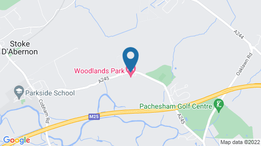 Woodlands Park Hotel Map