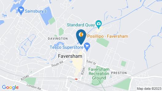 Swan Quay Inn Map