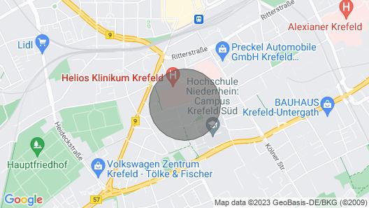 Schicke Wohnung in Unmittelbarer Nähe zu Helios Kliniken/hochschule Krefeld Map