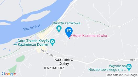 Hotel Kazimierzówka Map