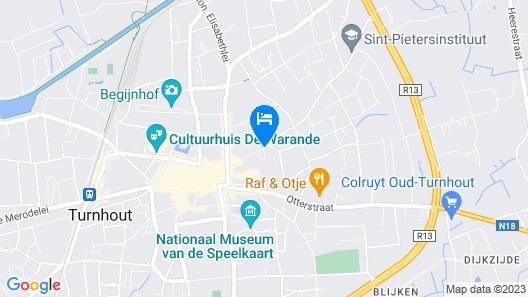 Corsendonk Turnova Map