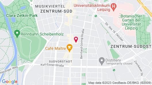 Hotel Markgraf Leipzig Map