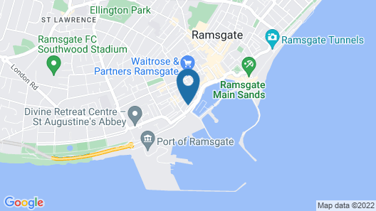 Royal Harbour Hotel Map