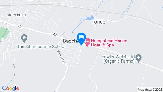 Hempstead House Hotel Map
