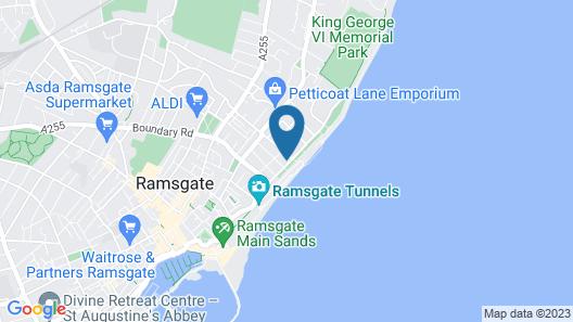 Comfort Inn Ramsgate Map