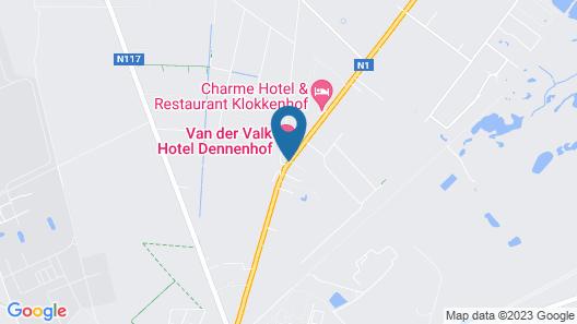 Van Der Valk Hotel Dennenhof Map