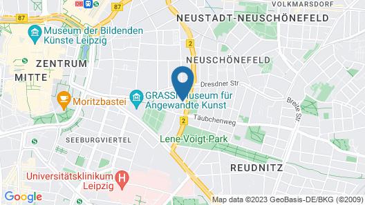 Days Inn by Wyndham Leipzig City Centre Map