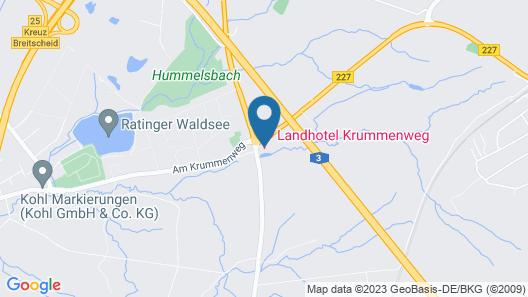 Landhotel Krummenweg Map