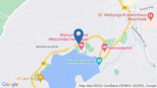 Welcome Hotel Meschede/Hennesse Map