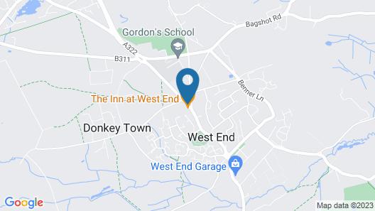 The Inn West End Map