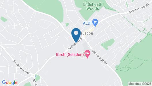 De Vere Selsdon Estate Map