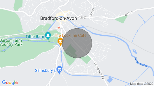 Flat 3 Avon Villa Map