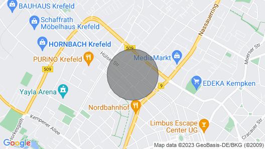 Apartment City Apartment Swifts Krefeld Map