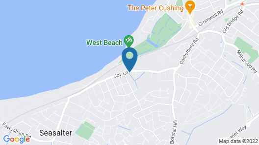 Whitstable Bay Bed & Breakfast Map