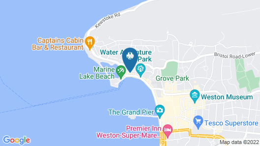 Seaward Hotel Map