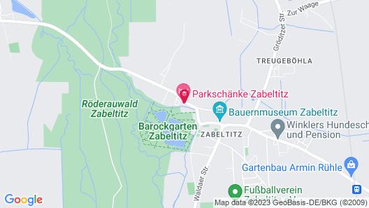 Hotel Parkschänke Zabeltitz Map