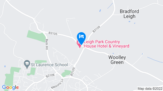 Best Western Leigh Park Hotel Map