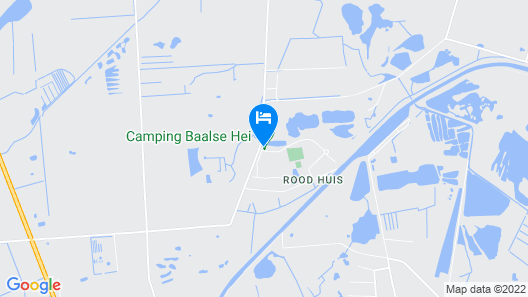 Modern Chalet With two Bathrooms in the Turnhout Area Map
