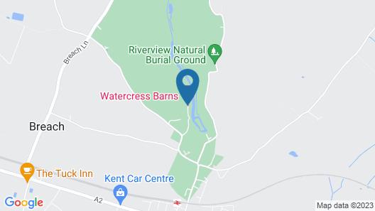 Watercress Barns Map