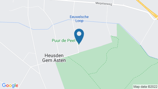 Holiday Home Puur de Peel Map