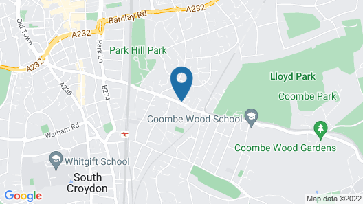 The Coombe Apartment Map