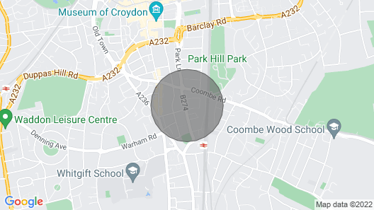 St Peter's Pad Map