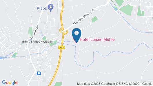 Hotel Luisen-Mühle Map