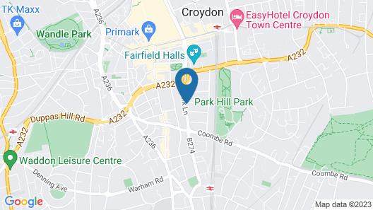 Westciti Croydon Serviced Apartments Map