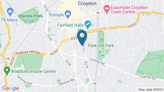 Roomspace Apartments -Park Lane Map