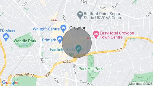 George Street Studio Flat Map