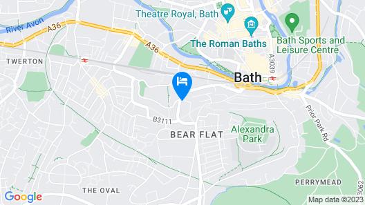 Leighton House Boutique B&B Map
