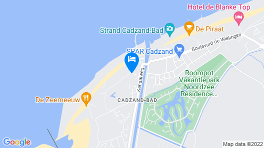 Apartment, Located a Stone's Throw Away From the sea Map