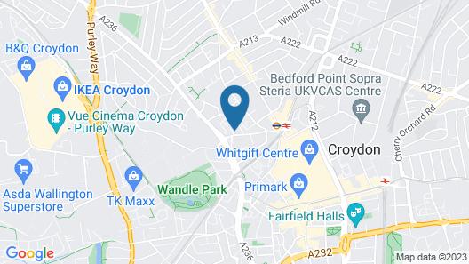 Luxury Croydon Apartment Map