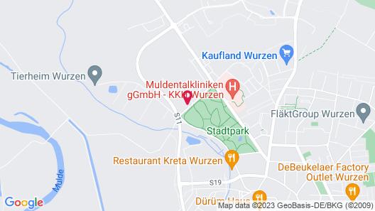 Ferienwohnung König Georg Map