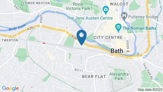 Henge House - Bluestone Apartment Map