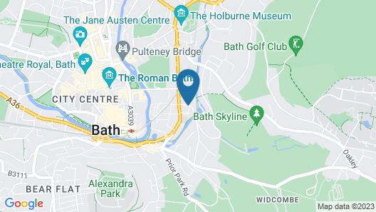 Brindleys Boutique Bed & Breakfast Map