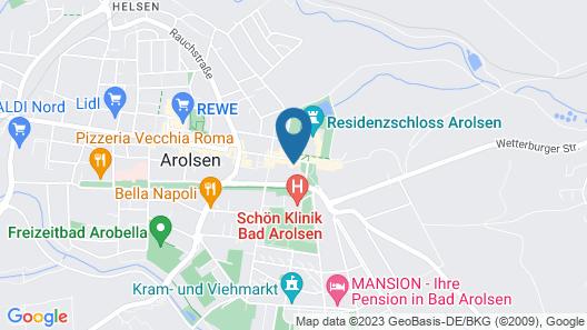 Zum Holländer Hof Map