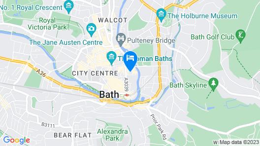 Hotel Indigo Bath Map