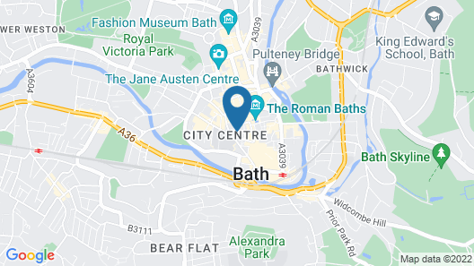 The Gainsborough Bath Spa Map