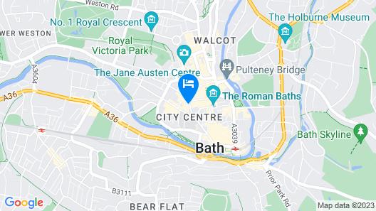 Hiding Space - Westgate Apartments Map