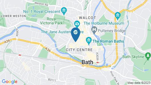 Dream Stays Bath - Kingsmead Street Map