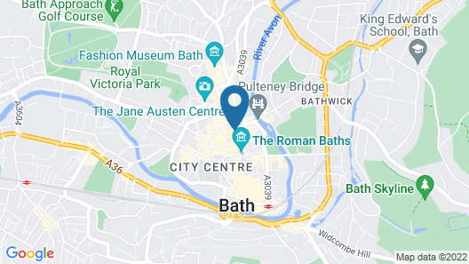 Superior Stays Luxury Apartments - Bath City Centre Map