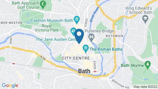 Dream Stays Bath - Trim Street Map