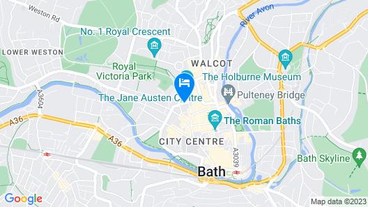 Francis Hotel Bath - MGallery Map