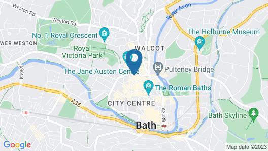 Harington's Hotel Map
